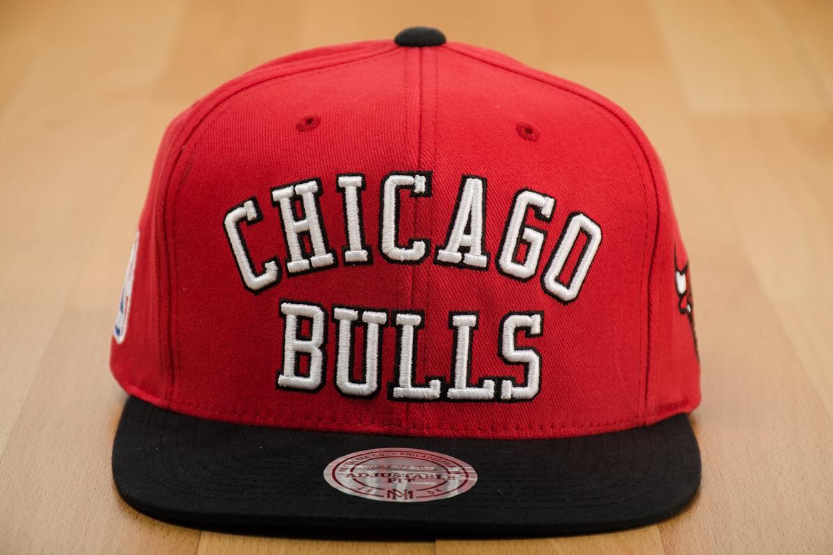 001207b7e Mitchell & Ness NBA Chicago Bulls Wordmark Jersey Hook Snapback Cap - Caps  Snapbacks - Sporting goods | sil.lt